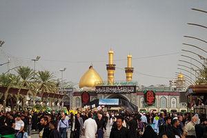کربلا مملو از زائران حسینی