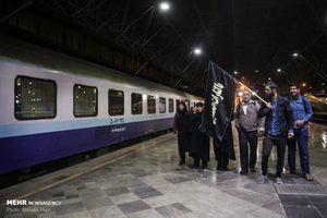 اعزام اولین گروه از زائران اربعین با قطار