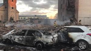 انفجار در کارخانه تولید وسایل آتش بازی