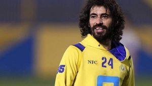 کتک خوردن فوتبالیست مطرح عربستان +عکس