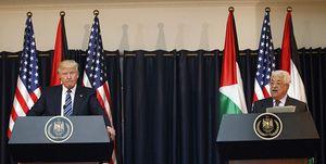 محمود عباس و ترامپ