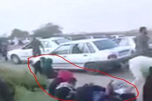 فیلم/ دستگیری مردان زن نما در مسیر پیاده روی اربعین!