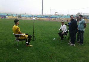 عکس/ مصاحبه اختصاصی بیرانوند با  سایتAFC