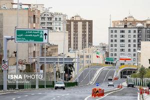 عکس/ افتتاح نیمه شمالی بزرگراه صیاد شیرازی