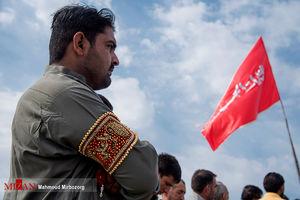 ورود زائران پاکستانی اربعین از مرز میرجاوه