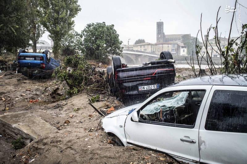 باران و سیل در جنوب فرانسه دست کم 13 کشته بر جای گذاشت.