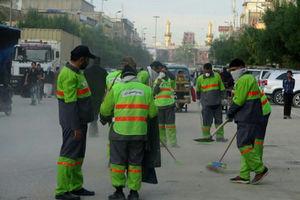 فیلم/ کنایه پاکبان های ایرانی در کربلا به یک مسئول!