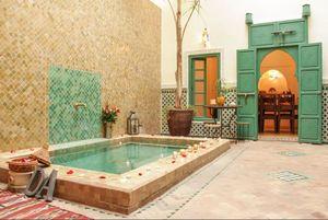 معماری بی نظیر یک هتل مراکشی