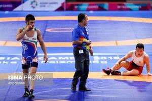 برد قاطع کریمی و انتقام اطری از قهرمان بازیهای آسیایی