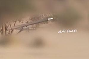 """فیلم/ لحظه شلیک موشک""""زلزال1"""" توسط یمنی ها"""
