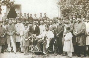 عکس/ سهچرخه سواری مظفرالدین شاه