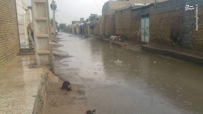 عکس/ آبگرفتگی خیابانهای اهواز پس از بارندگی