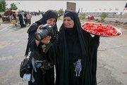 مادر عراقی که دو پسرش در ایران شهید شدند +عکس