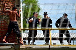 عکس/ نابسامانی در مرز مکزیک و آمریکا