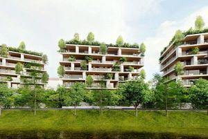 ساختمانی که اکسیژن تولید میکند! +عکس