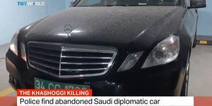 ترکیه خودروی مفقود کنسولگری سعودی را پیدا کرد +فیلم
