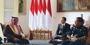 فرار وزیر خارجه سعودی از کنفرانس خبری در اندونزی