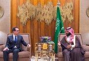 دیدار وزیر خزانهداری آمریکا با بن سلمان