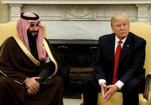 ترامپ و محمدبن سلمان