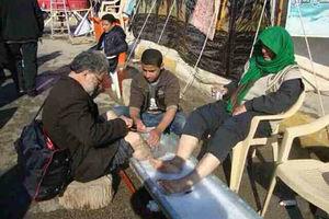 فیلم/ صحنه هایی دیدنی از مهمان نوازی عراقی ها