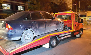 عکس/ خودروی مفقود کنسولگری سعودی پیدا شد