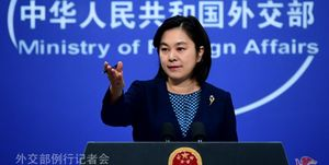 سخنگوی وزارت خارجه چین