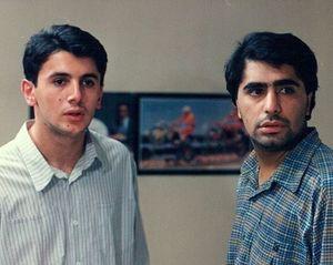 عکس / امین حیایی و رضا شفیعیجم؛ ۲۷ سال پیش