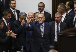 عکس/ آغاز سخنرانی اردوغان در خصوص قتل خاشقجی