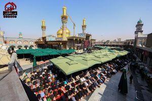 کاظمین مملو از زائران اربعین حسینی