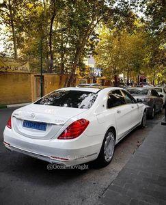 عکس/ مرسدس بنز اشرافی در تهران
