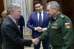 بولتون و وزیر دفاع روسیه