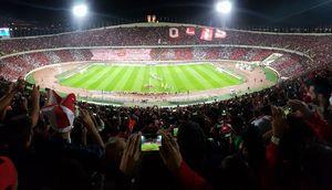هواداران پرسپولیس در ورزشگاه آزادی