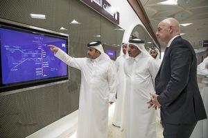 عکس/ بازدید رئیس فیفا از امکانات قطر برای جام جهانی
