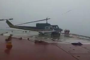 فیلم/ جدال طوفان با بالگرد ایرانی!