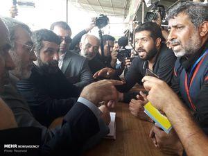 عکس/ بازدید وزیر کشور از مرز شلمچه