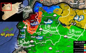 توافق آنکارا - مسکو در مرز فروپاشی/ جزئیات سناریو دروغین حمله شیمیایی برای نجات تروریستها در شمال سوریه + نقشه میدانی