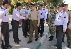 بازدید فرمانده ارتش از دانشگاه قرارگاه پدافند هوایی