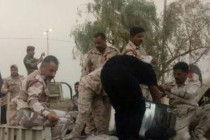 عکس/ پذیرایی نیروهای نظامی عراق از زوار اربعین