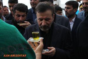 عکس/ حضور محمود واعظی در مرز چذابه