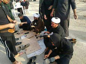 عکس/ طلبه های جهادی در مرز مهران