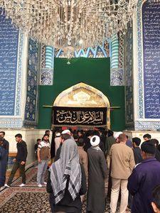 عکس/ صبح امروز؛ حرمین امامین عسکریین(ع)