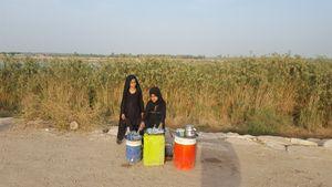 موکب باصفای دختران عراقی +عکس
