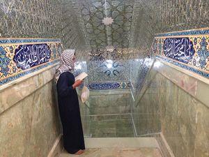 عکس/ حضور زائران در سرداب امام زمان (عج)