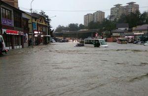 ورود سیلاب به مترو در ملبورن استرالیا +فیلم