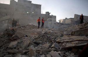 خسارات بمباران نوار غزه توسط رژیم صهیونیستی