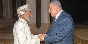 نتانیاهو در عمان