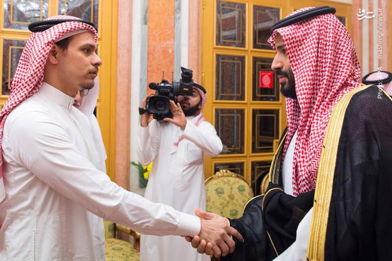 دیداری که بن سلمان و پدرش برای کاهش فشار در پرونده خاشقچی برای دیدار با صالح پسر خبرنگار مقتول ترتیب دادند. ظاهراً این دیدار، پیششرط اجازه خروج او از کشور بوده است.