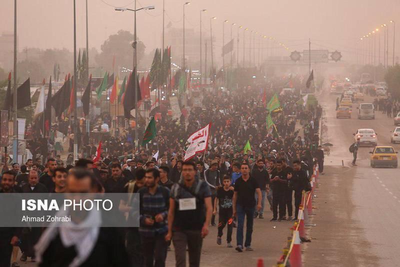 راهپیمایی میلیونی اربعین