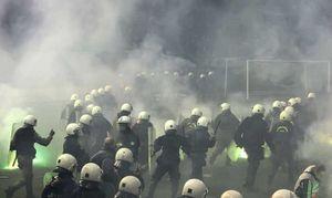 فیلم/ درگیری هواداران هرتابرلین با پلیس