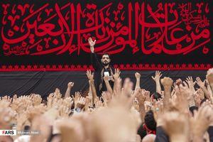 عکس/ مداحی بنی فاطمه در عمود ۷۸۰